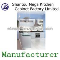 High end modern wooden cabinet in kitchen
