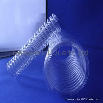 Quartz Tube Spiral,Quartz Heating Coil