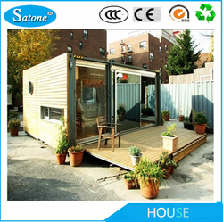 New 2016 cheap Prefabricated house container living hotel design
