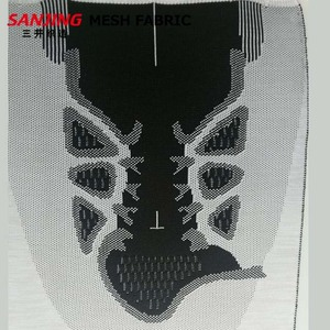 Manufacture wholesale fly knit vamp shoe upper for sport shoe