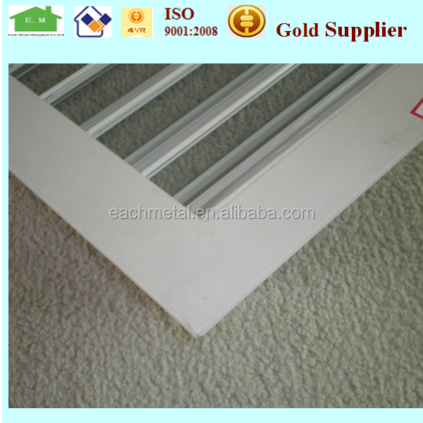 aluminum louver windows plantation shutter components