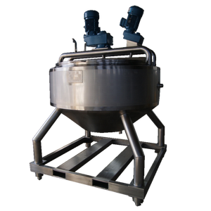 200 Gallon Double Stir ASME Qualified Eletric/Steam Jacketed Cooking Kettle Mixer