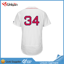 full sublimation 100% polyester plain baseball jersey Custom sublimated baseball jersey