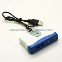 USB 7 1 channel audio input sound cards usb