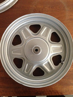 electric tricycle high quality spare parts of steel wheel for sale