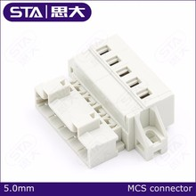 MCS 721 series female and male connetors protected against mismating without preceding ground contact