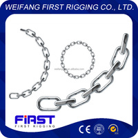 Hot dip galvanized BS long long link chain
