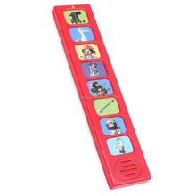 talking bar with pre-recorded sound effect for little kids learning books