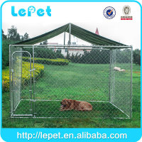 Large outdoor dog cage for sale cheap/large dog fence/lowes dog kennels and runs