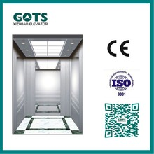 CE 1000kg passenger elevator stainless steel door/Chinese factory 1.0m/s Comercial elevator
