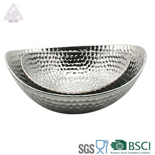 Best selling ceramic silver gold home wedding cake fruit plate interior decoration