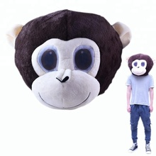 2018 Costume Head Animal mascot Party Plush monkey Head mascot