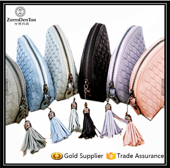 Korean Style Ladies Women Leather Tassel Short Wallet Coin Purse Wholesale