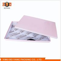Factory Sale excellent quality round tube clothing gift box with reasonable price