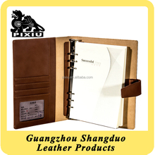 Alibaba China Supplier Excellect Handmade Notebook Cover Leather