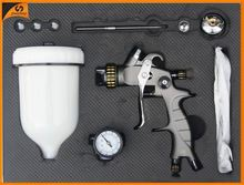 Good quality air tools best ningbo HVLP Dual nozzles spray gun (for chrome plating machine)