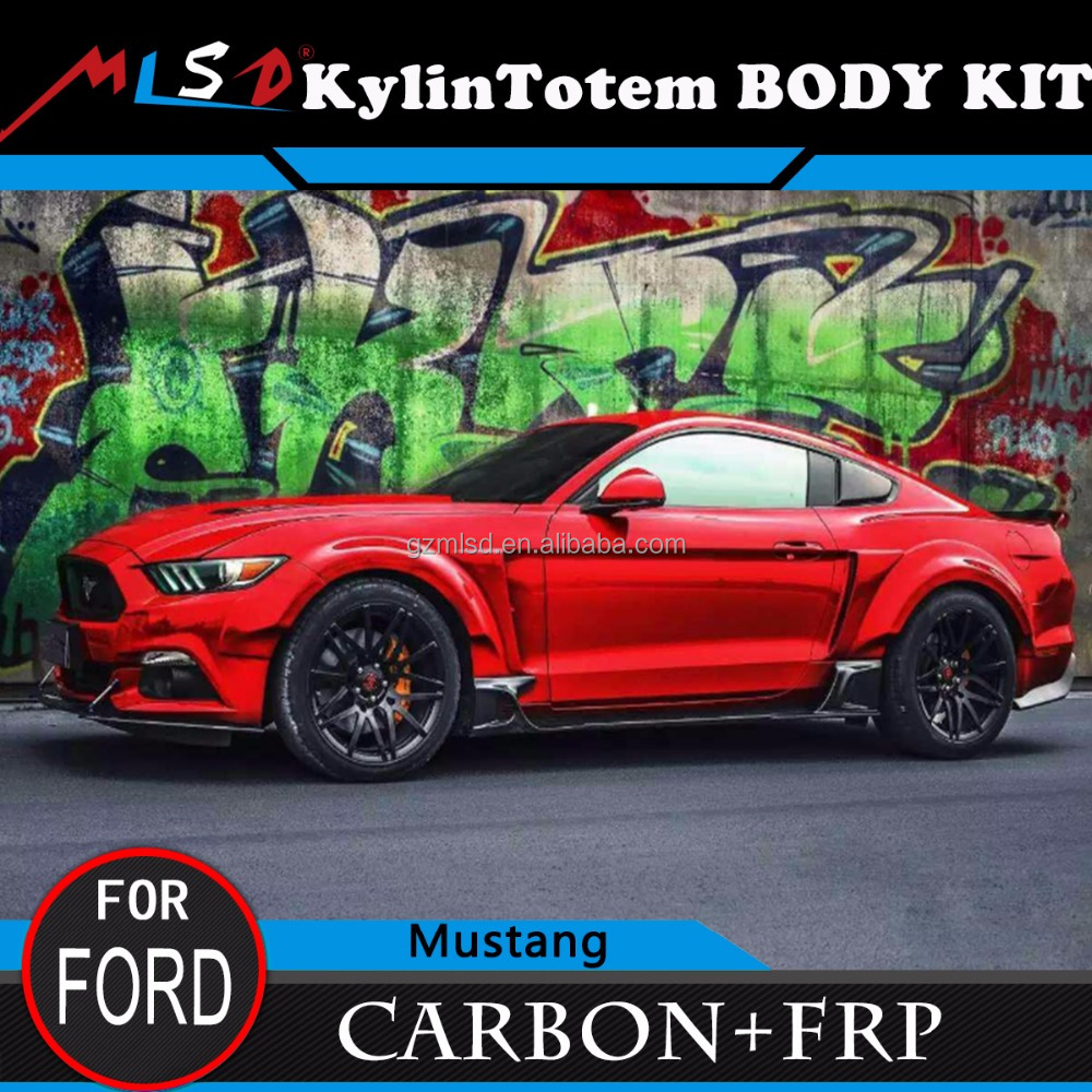 Made in china 2016 new car-styling body kit high quality KT style for FORD Mustang 2015-2016