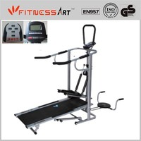 4 in 1 Manual Treadmill Flat Walker FW803A