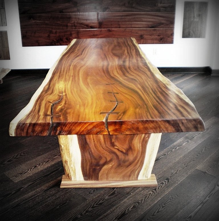 Fiji Koa Slab furniture