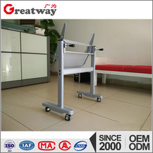 Moderm metal folding student table frame for college school furniture