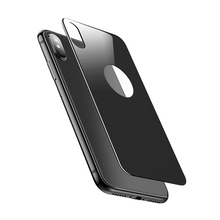 New Arrival! 3D Curved 9H Anti-Shock Back Cover Tempered Glass Screen Protector For iPhone X
