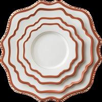 New design luxury china rose gold ceramic dinnerware for wedding