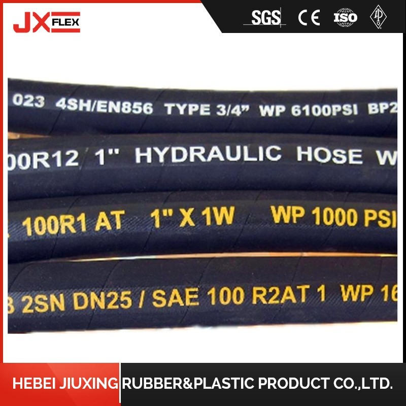 high pressure low price popular pipe crimping hydraulic hose price list