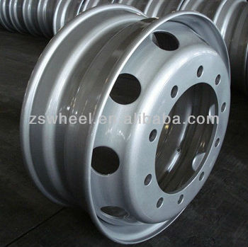 good quality 22.5x7.50 truck tubeless steel wheel