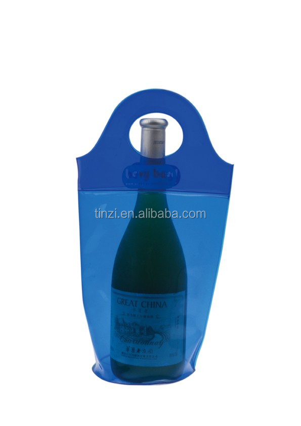 Wine Chiller and Ice Bucket, Ice Bag Carrier for Champagne