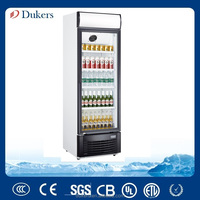 The upright chiller for Supermarket with automatic defrost 382 liter_LG-382BF