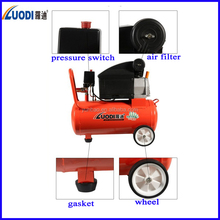 portable air compressor 2hp 24l direct driven BM type