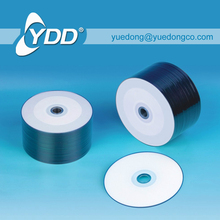 WHITE PRINTABLE DVD+/-R IN SHRINKWRAP PACK YDD