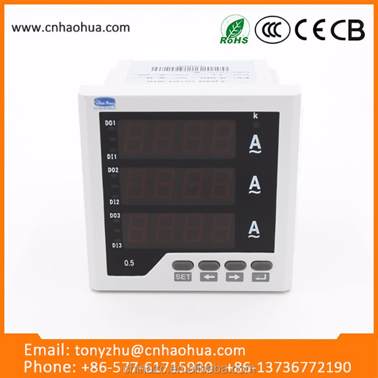 96*96mm Frequency digital Panel Meter