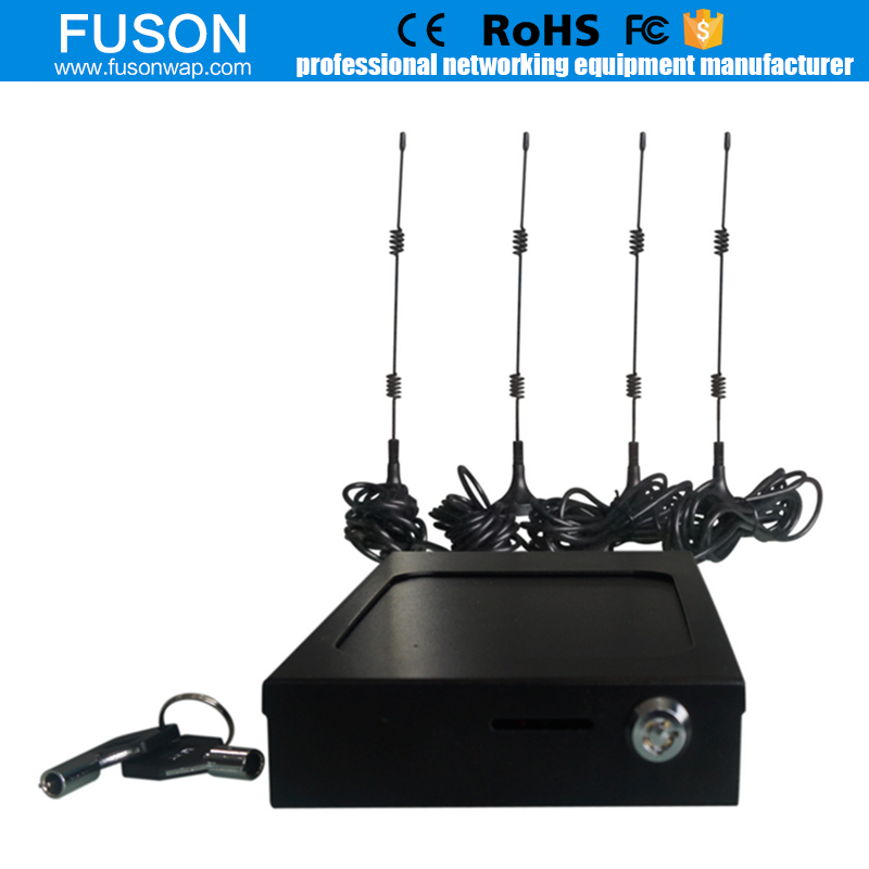 Hot 12v Industrial Vehicle 4G 3G WIFI Router for Buses , Cars