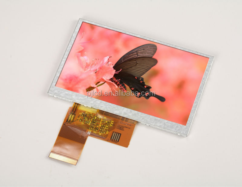 4.3 inch novel design touch panel tft lcd for fujitsu ( PJT430C05H29-250P40N )