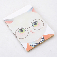 LANGUO pocket note books/exercise book with cute katy cat design model :LGKD-2869