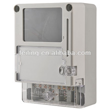 DDS2060-2 Single-phase electric meter case pc or abs material enclosures