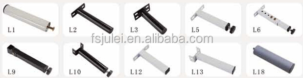 popular steel bed leg brackets L5 bed stand
