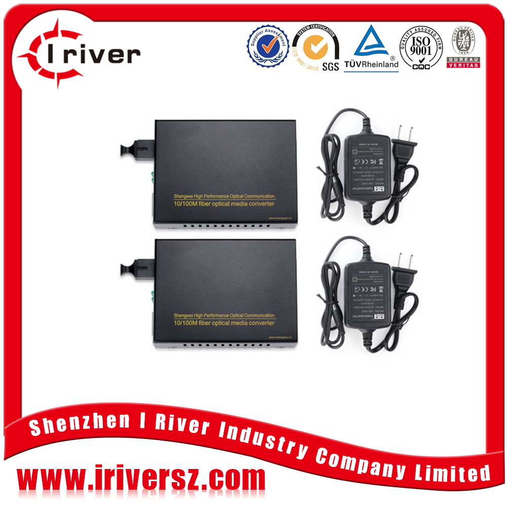 Stable quality Cheap price 10 100m fiber optic media converter FTTH 2KM to 120KM optical ethernet converter