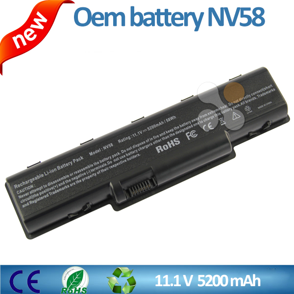 11.1v 5200mah for ACER battery NV58