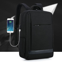 men and women bags for middle school students Leisure travel bag Business computer pack usb smart charge laptop backpack