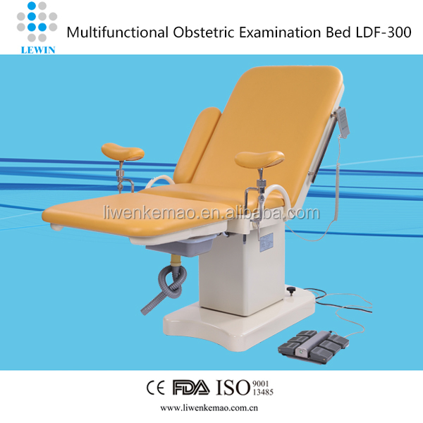 CE/FDA Gynecology delivery bed with color options LDF-300