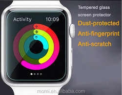 For apple watch premium tempered glass screen protector, Japanese glass and glue