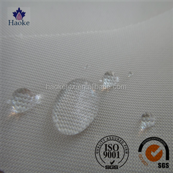 FDY PU coated 420d water resistant polyester oxford fabric for lining