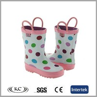 baby girl handle rain boots,baby wellies