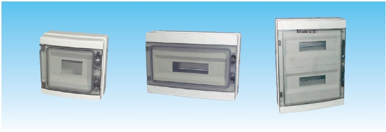 IP65 4 ways Plastic electronic distribution box junction enclosure