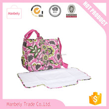 Wholesale stock diaper bags mummy baby bag, trendy mother bag alibaba china