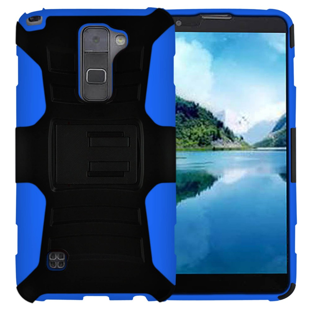 alibaba express, phone case for LG K520 Stylus2/LS775, PC and silicone