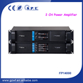 SPE Audio 2 Channel 2350W FP14000 Power Amplifier