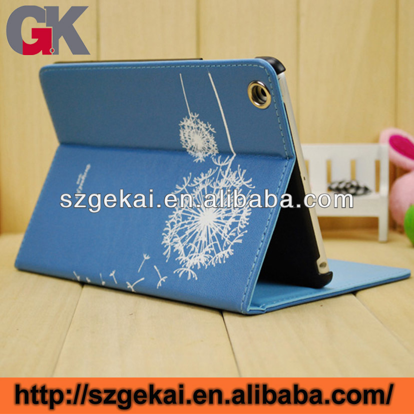 flip leather case for ipad 5, smart table leather cover for ipad air